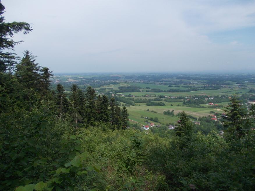 Widok z szczytów Bliźniaków