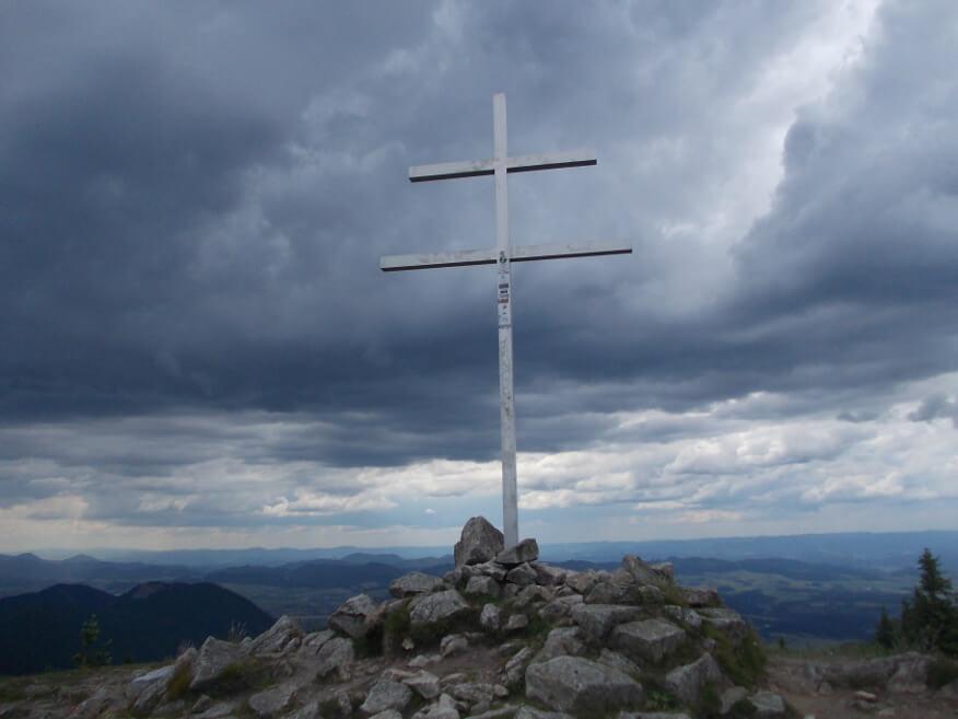 Słowacki krzyż na Mincole