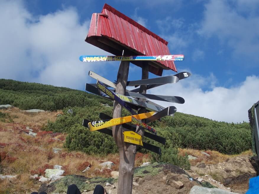 Narciarskie odległości przy Schronisku na Solisku
