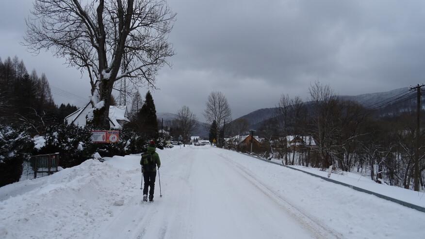 Droga przez Wetlinę