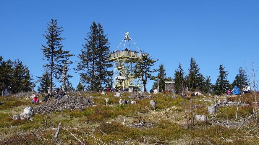 Oblegana wieża na Baraniej Górze