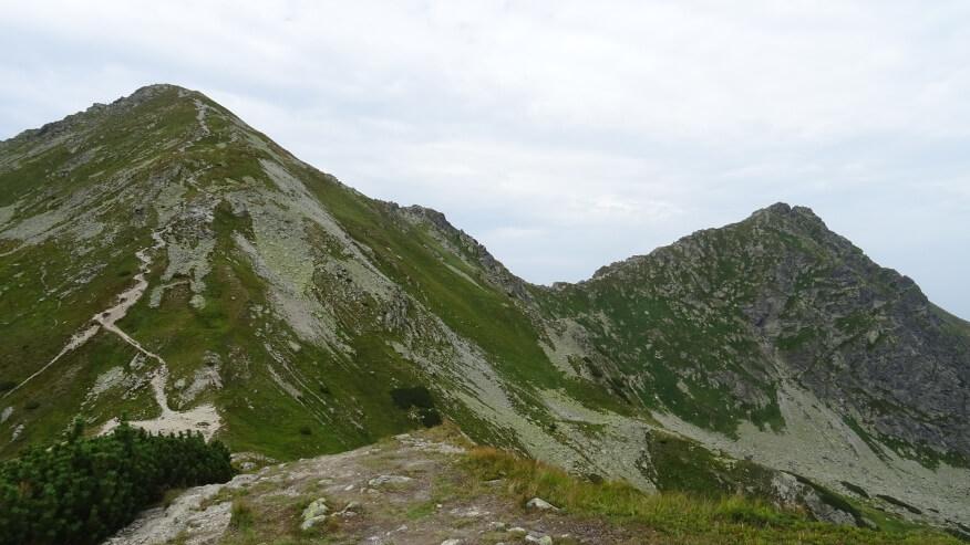 Rohacz Płaczliwy i Ostry z okolic Przełęczy Żarskiej