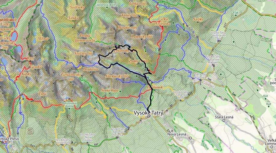 Trasa w portalu PlanetaGor.pl