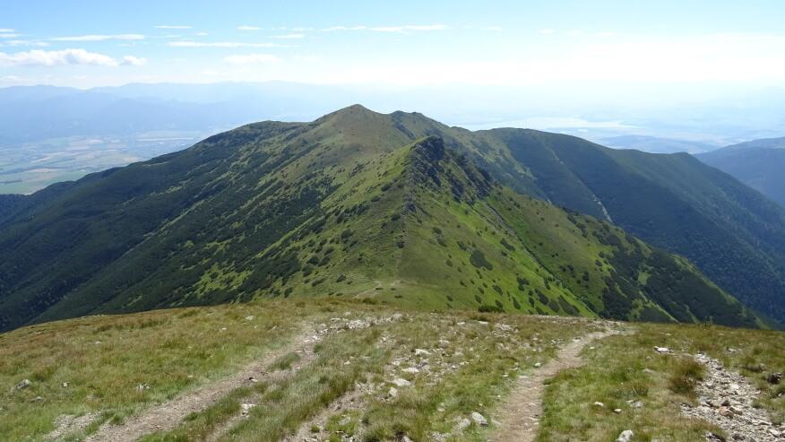 Przełęcz Jałowiecka, Jałowiecka Kopa i Rosocha