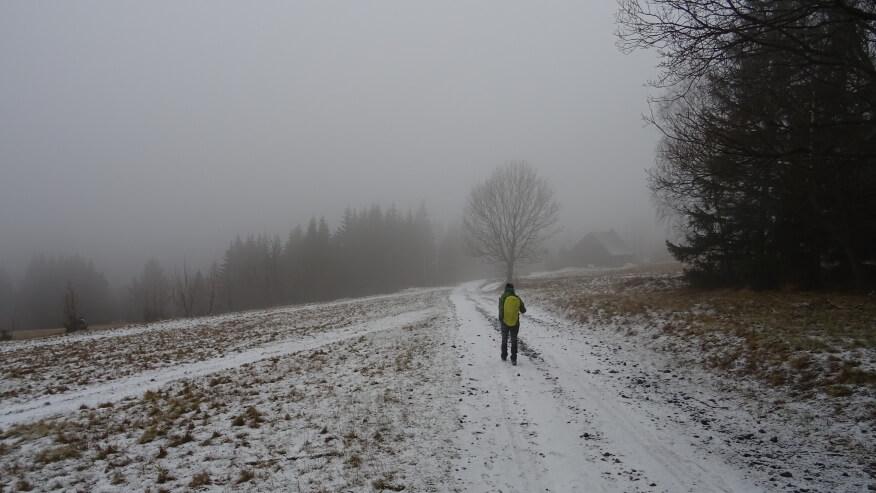 Zejście do Międzygórza