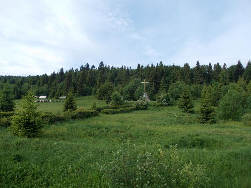 Początek trasy - Przełęcz Użocka