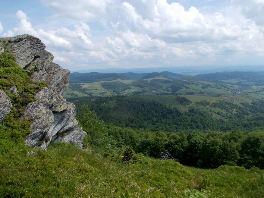 Skałka w pobliżu Drohobyckiego Kamienia