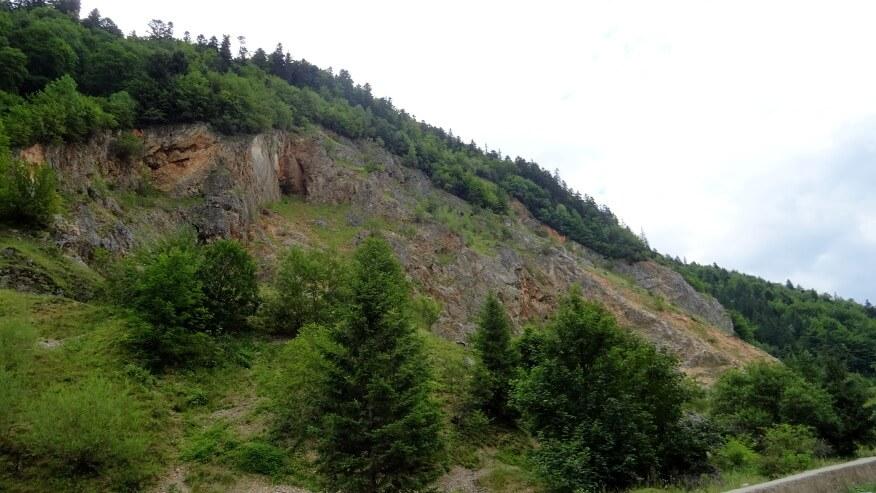 Skaliste zbocza Valea Prăpăstiilor (doliny)
