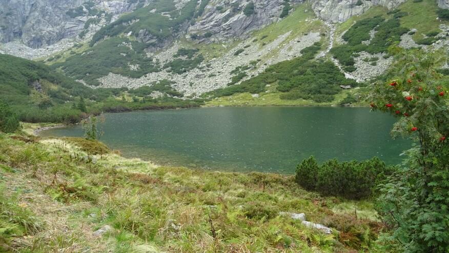 Ciężki Staw w Dolinie Ciężkiej (Ťažká dolina)