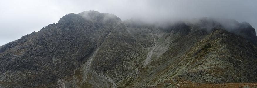 Huncowski Szczyt z Rakuskiej Przełęczy