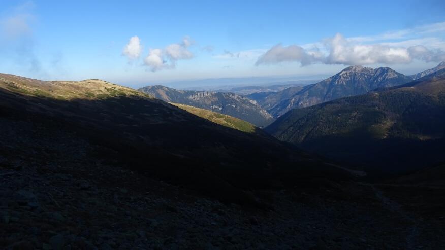Dolina Chochołowska widziana z góry