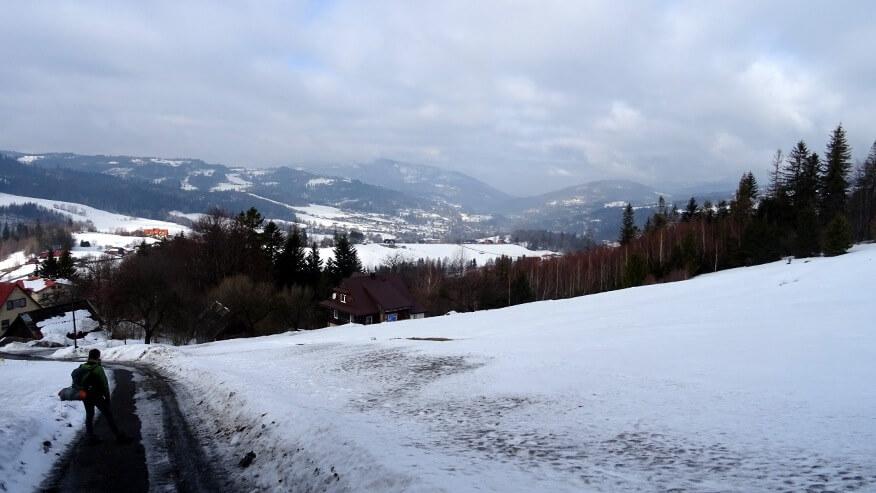 Wiślańskie zimowe widoki