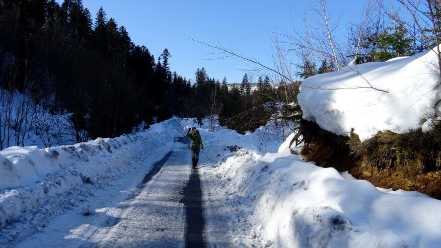 Na drodze z Fajkówki