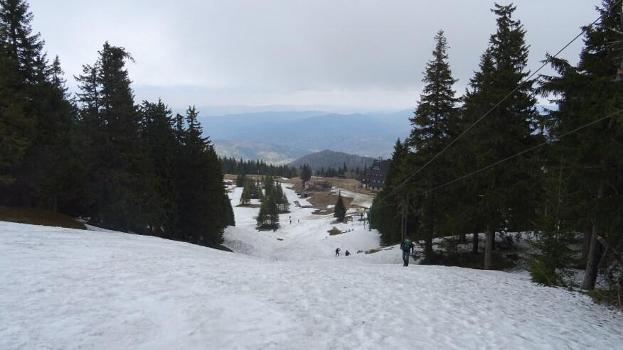 Na trasie narciarskiej nr 8