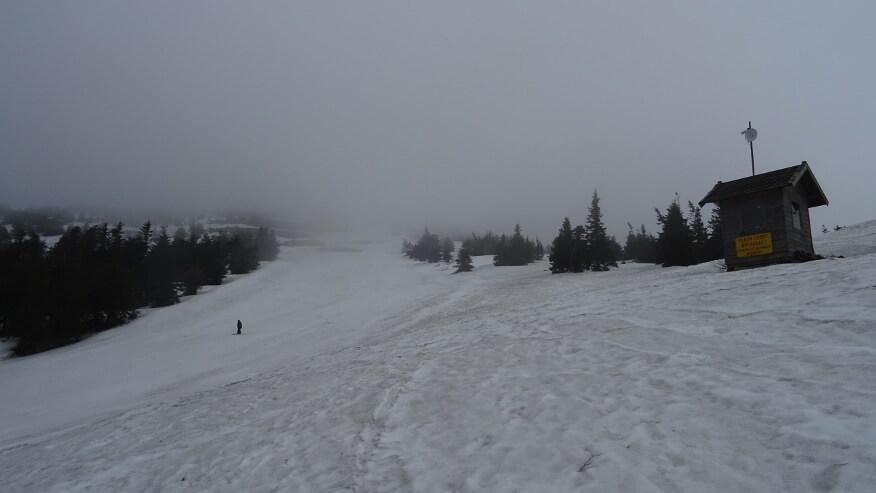 Samotny narciarz