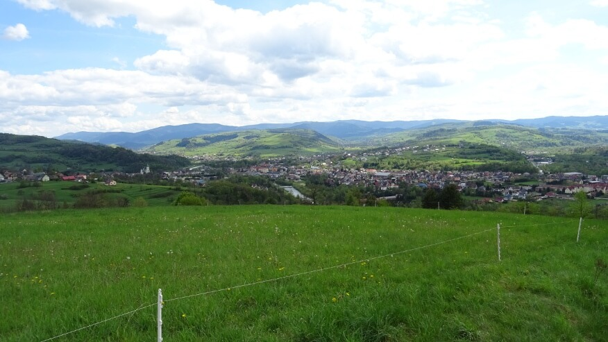 Panorama Mszany Dolnej