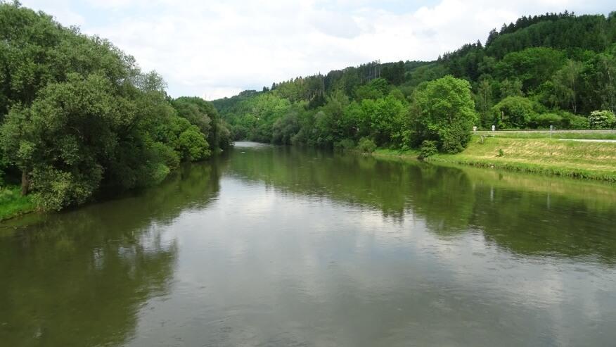 Rzeka Orawa w Dolnym Kubinie