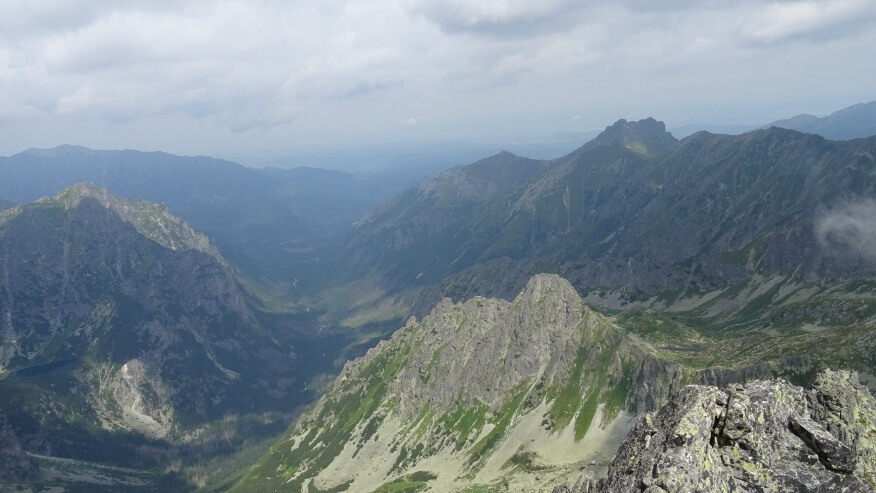 Młynarz, Dolina Białej Wody, Szeroka Jaworzyńska i Litworowe Mnichy