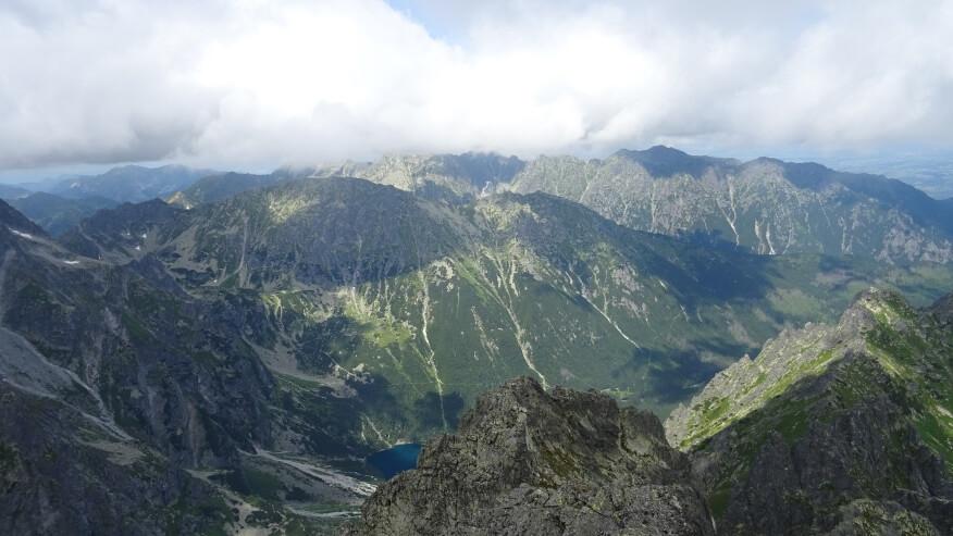 Nad polskimi Tatrami też wiszą chmury
