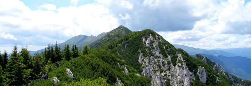 Grań w kierunku Șaua Padinei Închise