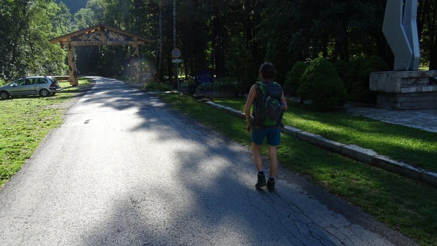 Wejście do Doliny Gaderskiej