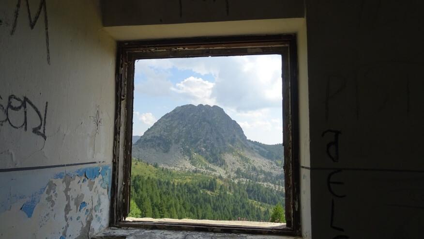 i wewnątrz, choć widok z okna robi wrażenie :-)