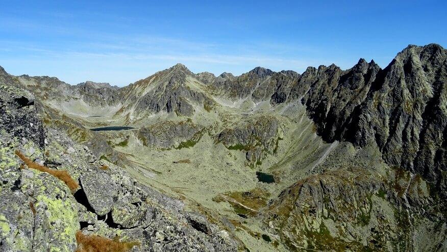 Górne partie Doliny Młynickiej