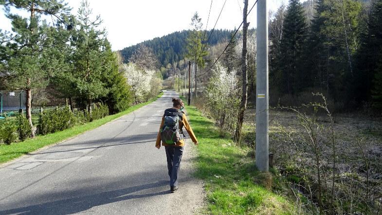 Asia na żółtym szlaku w Sopotni Wielkiej