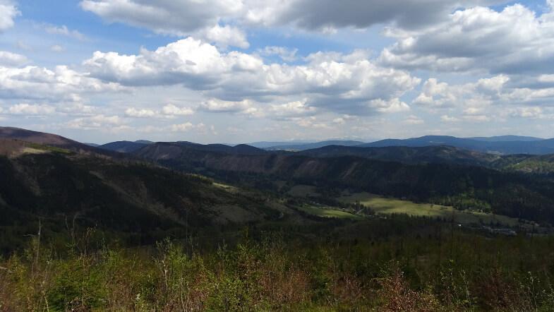 Widok z okolic Kikuli