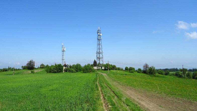 Przekaźniki telekomunikacyjne na Koskowej Górze
