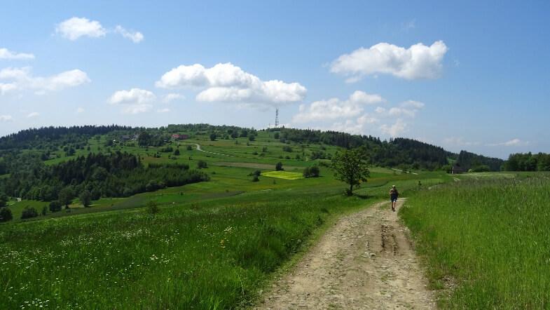 Koskowa Góra została już w tyle