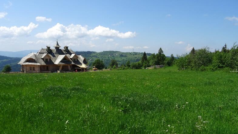 Koskowa Góra i wypasiony dom z Parszywki
