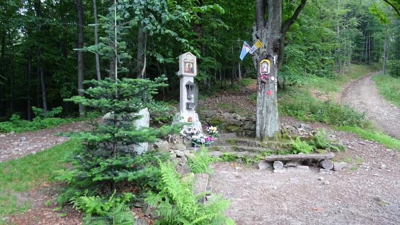 Kapliczka na Przełęczy U Panienki