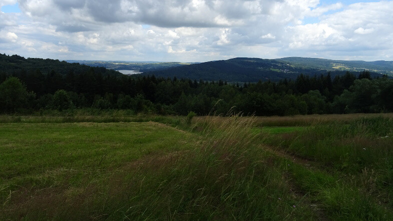 Jezioro Mucharskie, Starowidz i Chełm