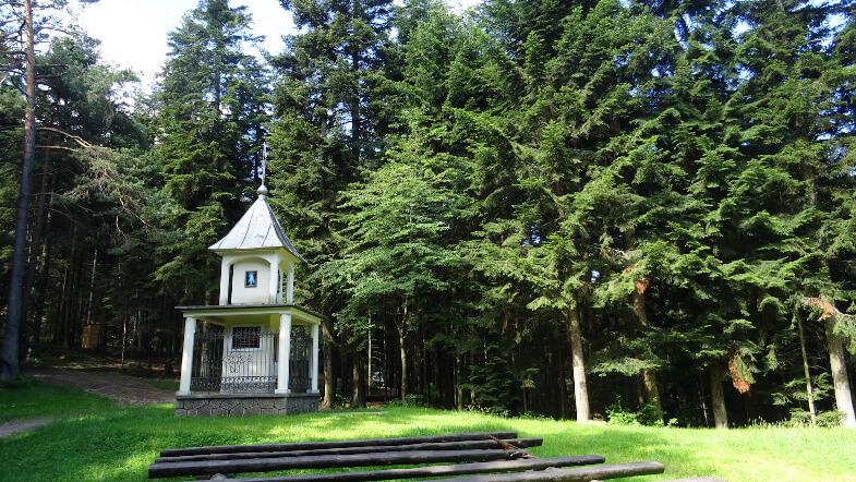 Kapliczka św. Mikołaja na Plebańskiej Górze