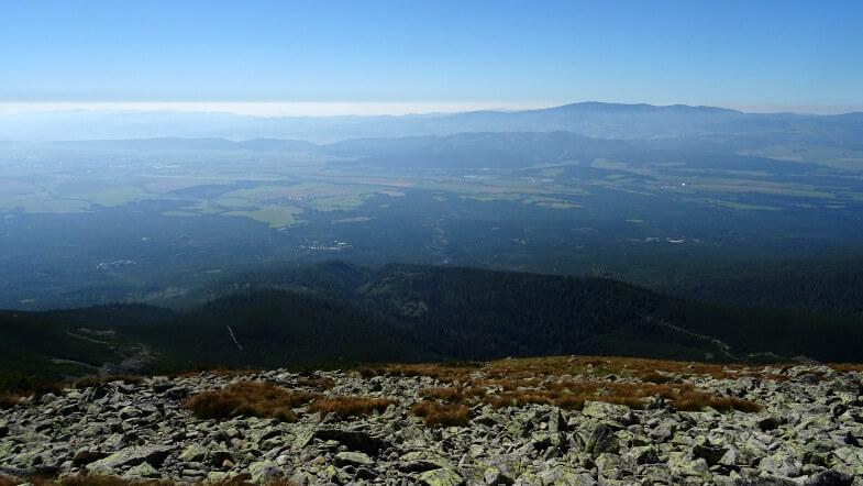 Widoki z Niedźwiedziej Przełęczy
