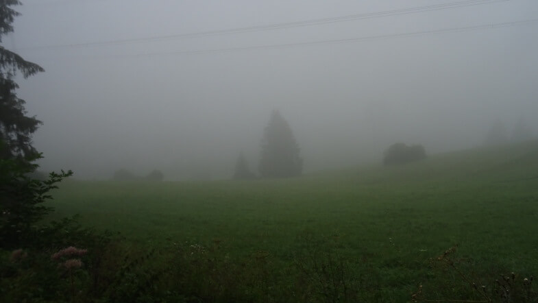 Mgła nad Ludrovą
